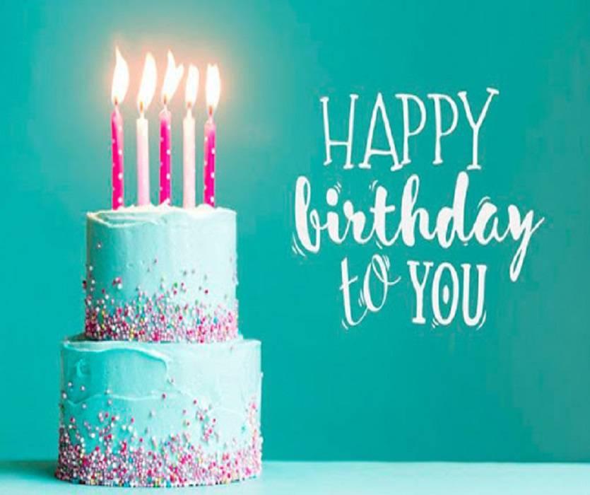تبریک تولد به زبان انگلیسی